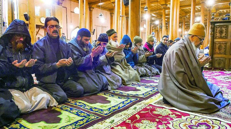 Doors were open to Friday prayers at the historic Jamia Masjid for the first time in 19 weeks.