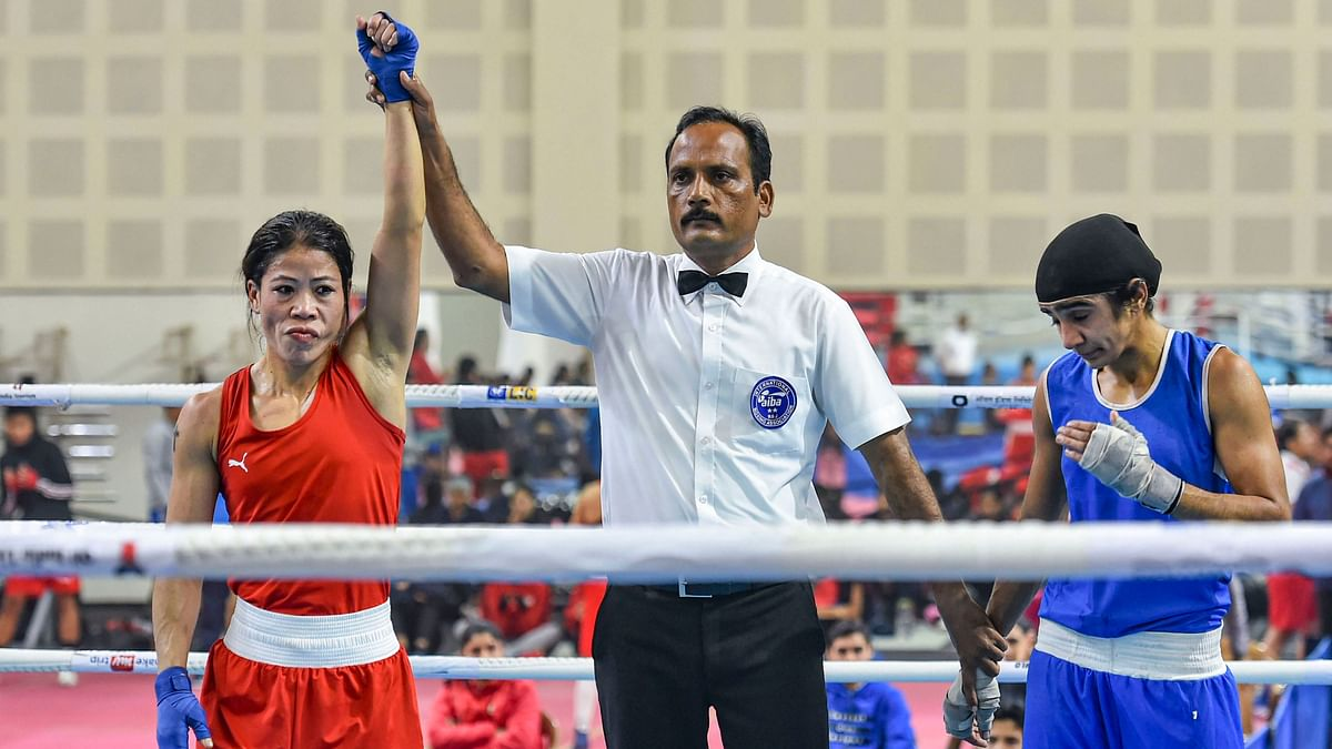 Nikhat Zareen will fight MC Mary Kom on Saturday for a chance to be India's representative at the Tokyo Olympic qualifiers.