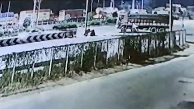 The CCTV footage turned out to be of immense importance as the police who were able to track the accused.