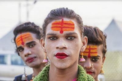 Kumbh Mela photos of Naga Sadhus, transgenders enthrall art lovers, citizens in Florence
