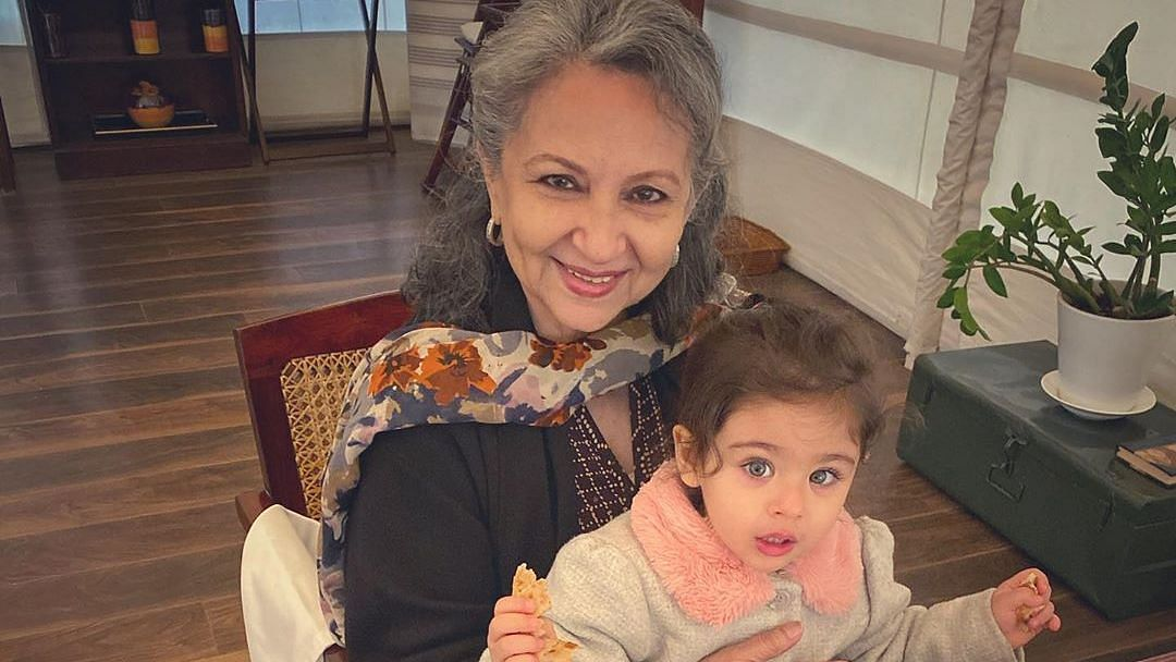 Sharmila Enjoys 'Birthday Pancakes' with Granddaughter Inaaya