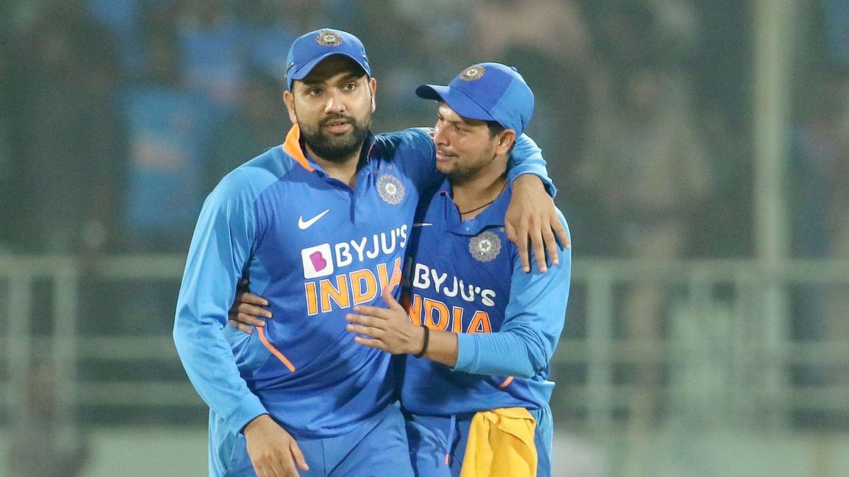 Rohit Sharma and Kuldeep Yadav both broke big records in the second ODI vs West Indies.