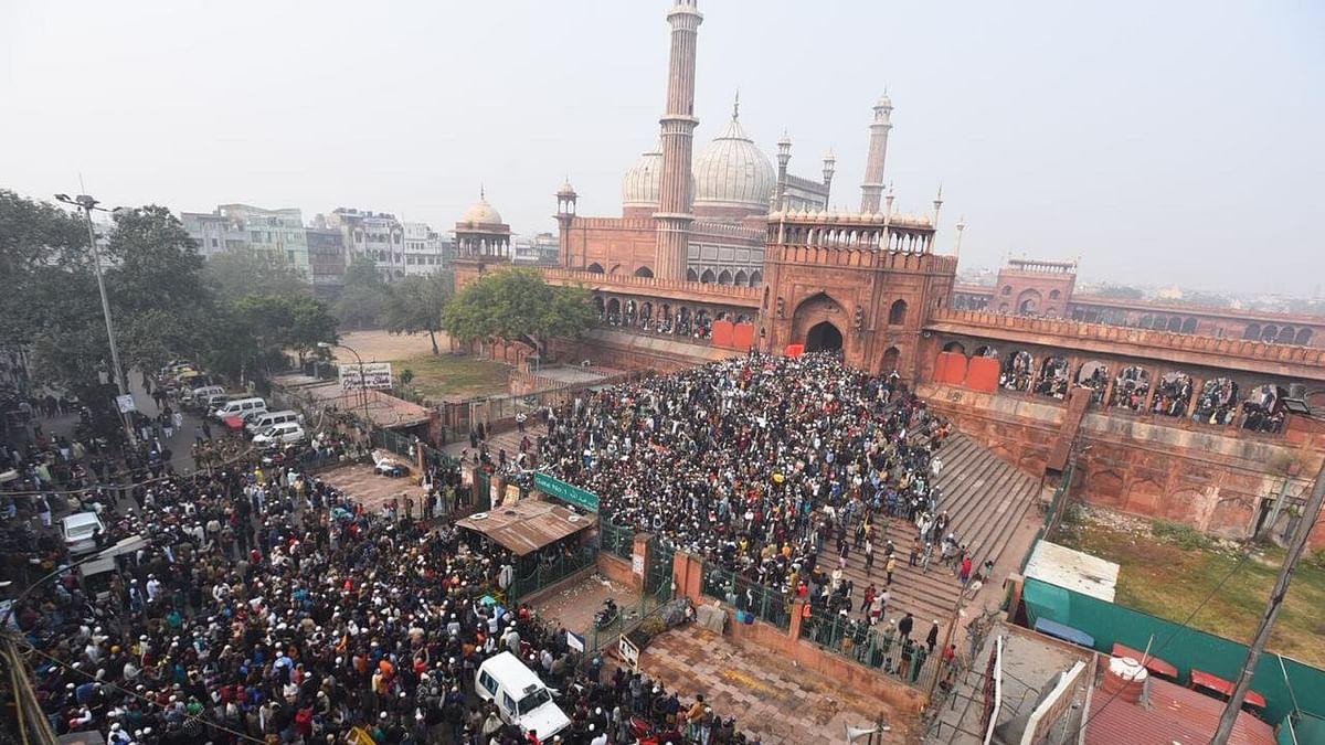 CAA Protests in Old Delhi