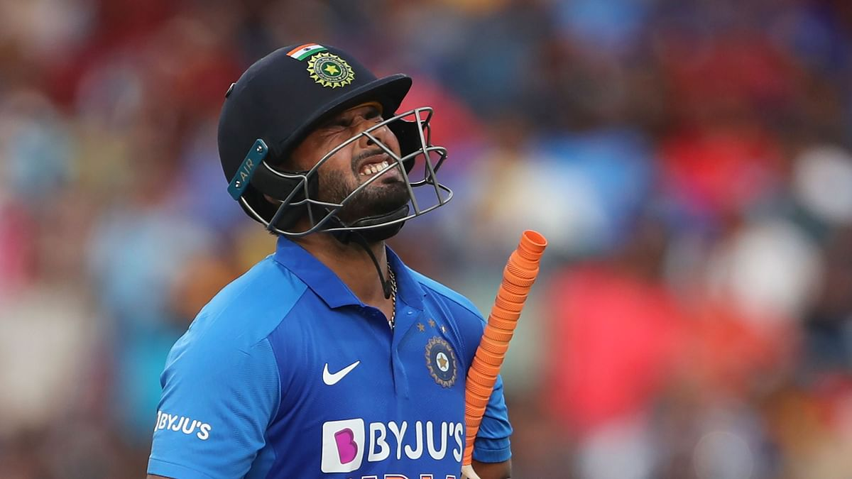 Pant didn't take the field for the second half of the first ODI in Mumbai on Tuesday, 14 January.
