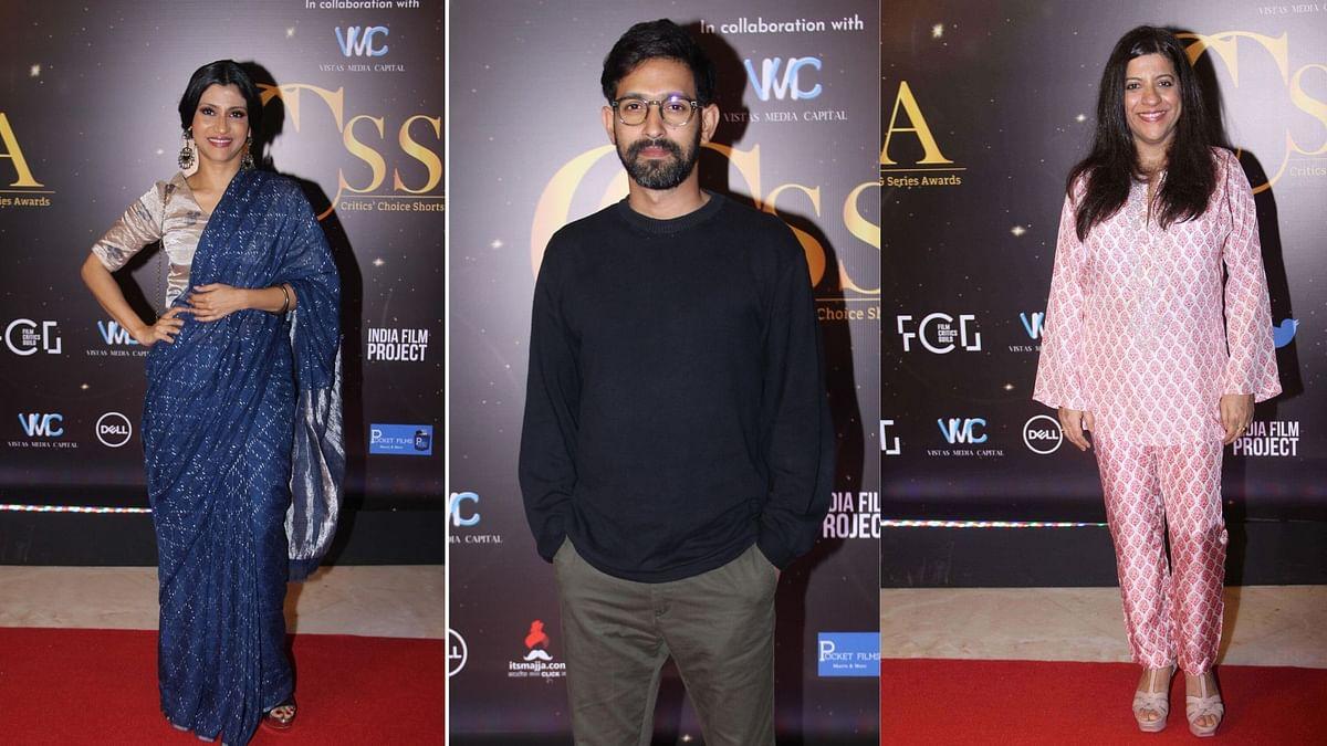 In Pics: Zoya Akhtar, Konkona Sen Attend Critics' Choice Awards