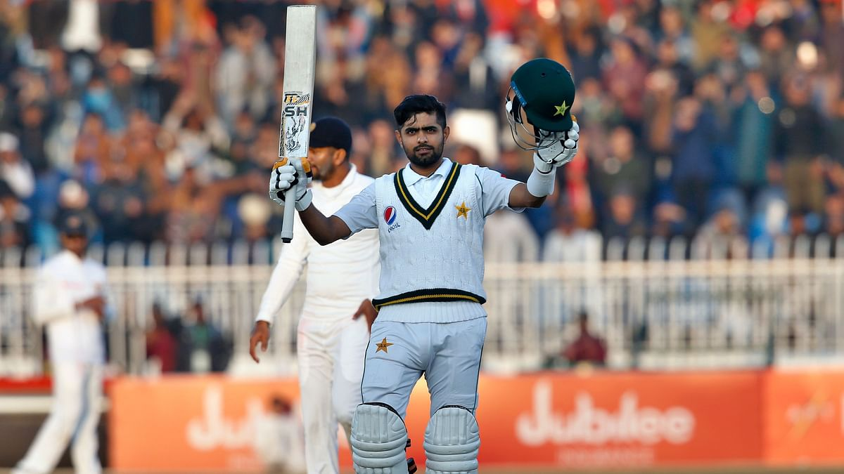 Twitter Lauds Babar Azam For Two Homecoming Hundreds