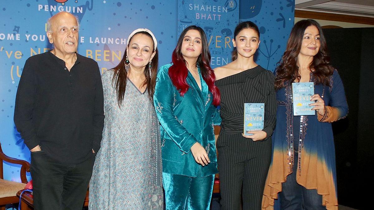 Bhatt Family attended Shaheen Bhatt's book launch 'I've Never Been (Un)Happier'