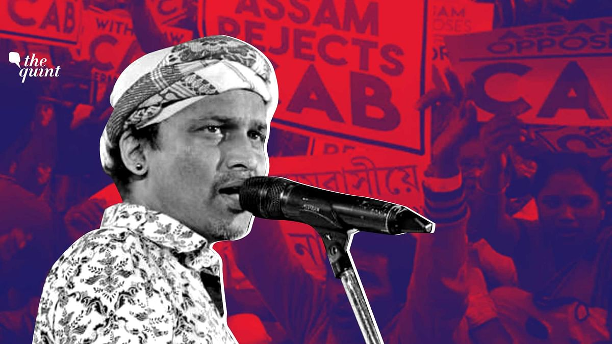 Singer Zubeen Garg is playing a key role in the protests against Citizenship Amendment Act in Assam
