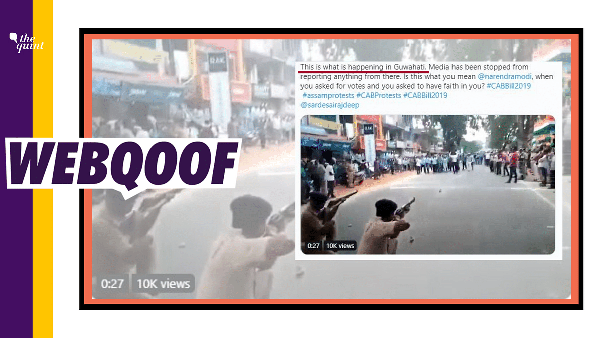 Police Beat Citizenship Act Protesters in Assam? It's a Mock Drill