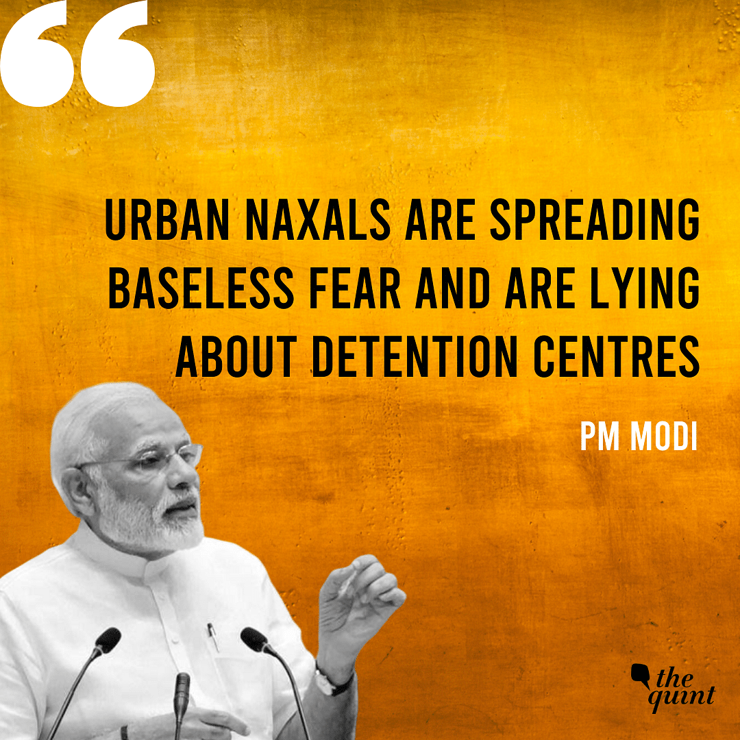 'There Are No Detention Centers In India,' Says PM Modi in Delhi