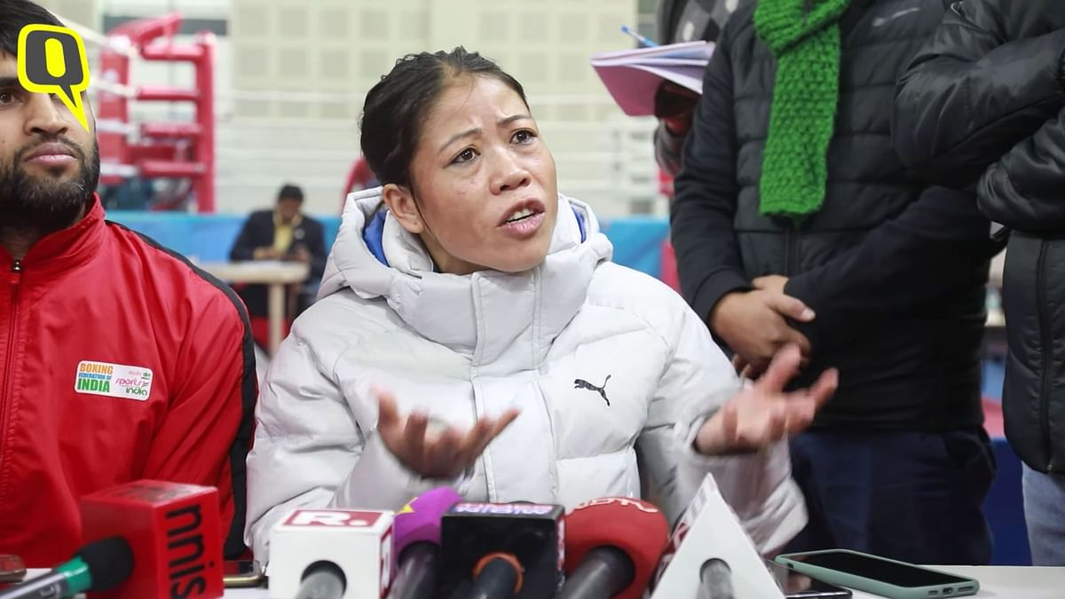 Mary Kom explains why she refused to shake hands or hug Nikhat Zareen after winning the intense bout between the two in the 51kg final