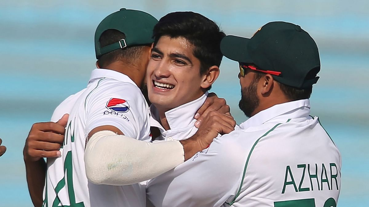 Pakistan pacer Naseem Shah has become the youngest fast bowler to pick up a five-wicket haul in Test cricket.