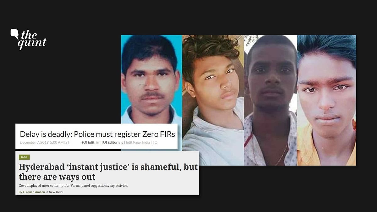 Day After Hyderabad Encounter, Editorials Decry 'Instant Justice'