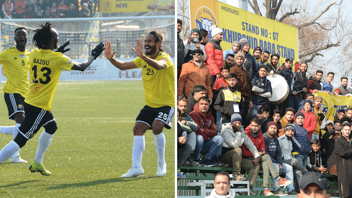 Football Returns to the Valley; Real Kashmir Treat Fans to a Win