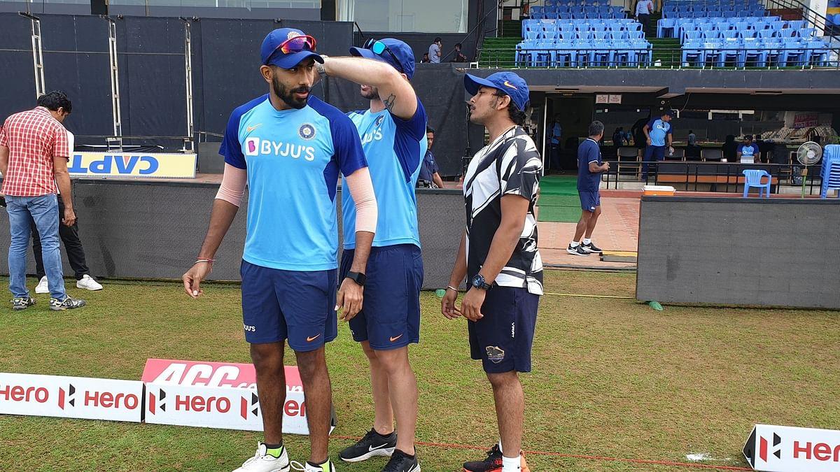 Jasprit Bumrah Joins Virat Kohli & Boys at Training in Vizag