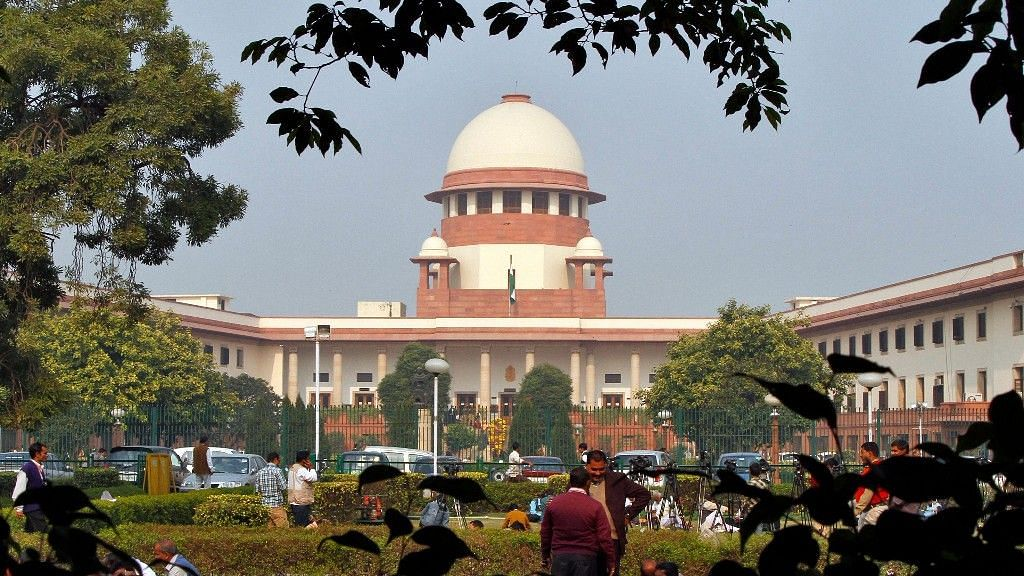 File photo of Supreme Court of India