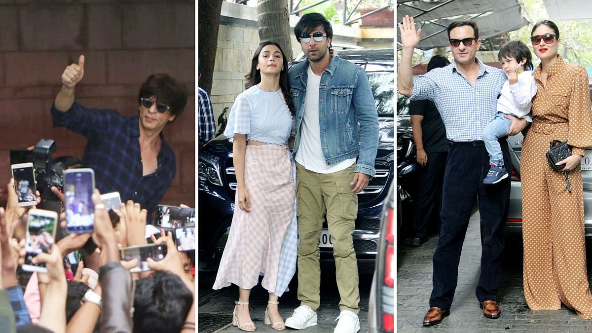 In Pics: SRK, Ranbir, Alia and Saif Celebrate Christmas in Style