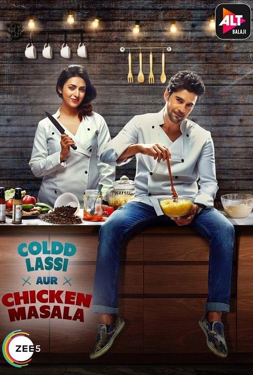 A poster for <i>Coldd Lassi Aur Chicken Masala.</i>
