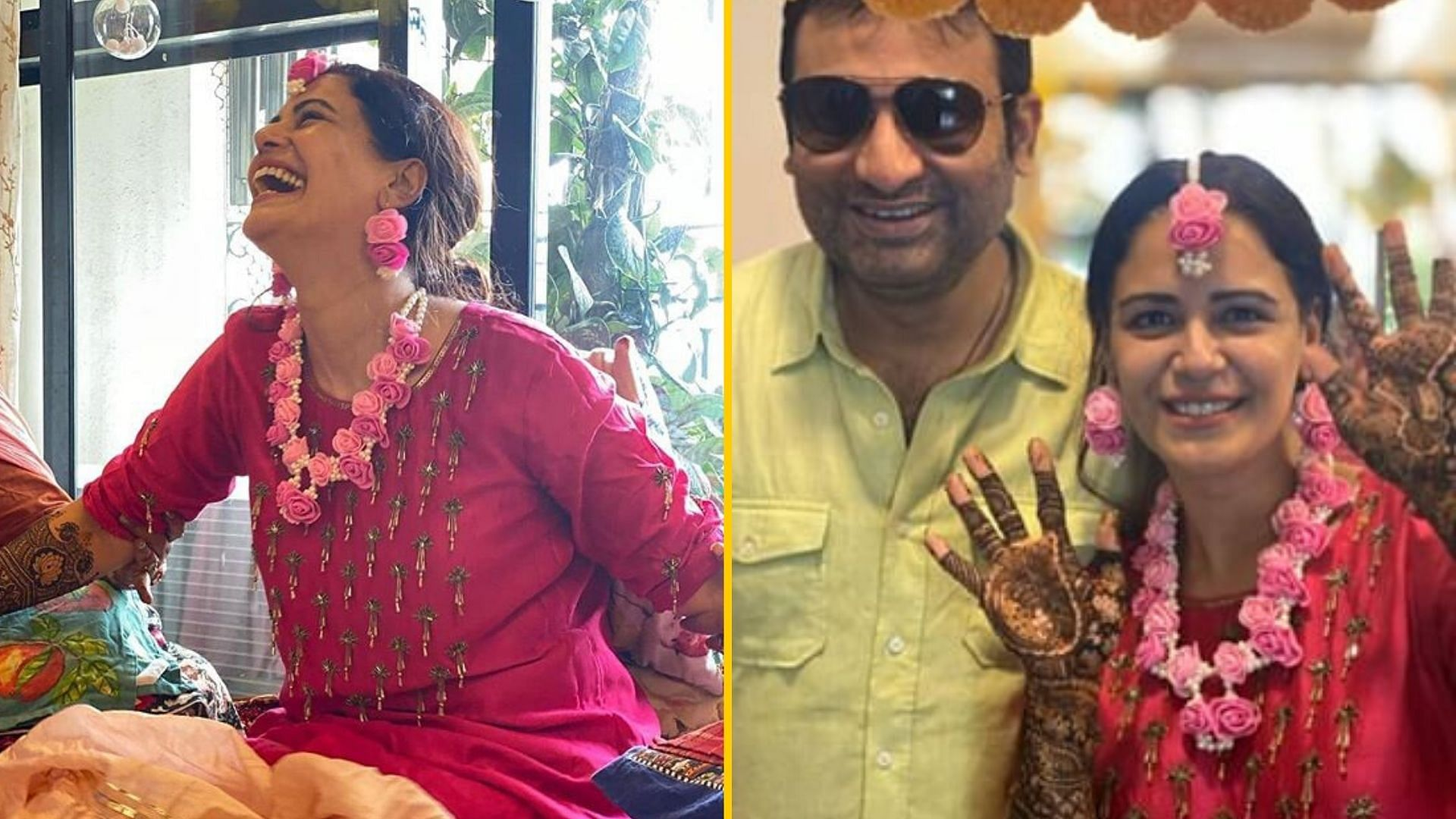 Photo Mona Singh Marriage Photos Mona Singh Looks Radiant At Mehendi Ceremony Ahead Of December Wedding No does mona singh drink alcohol?: photo mona singh marriage photos