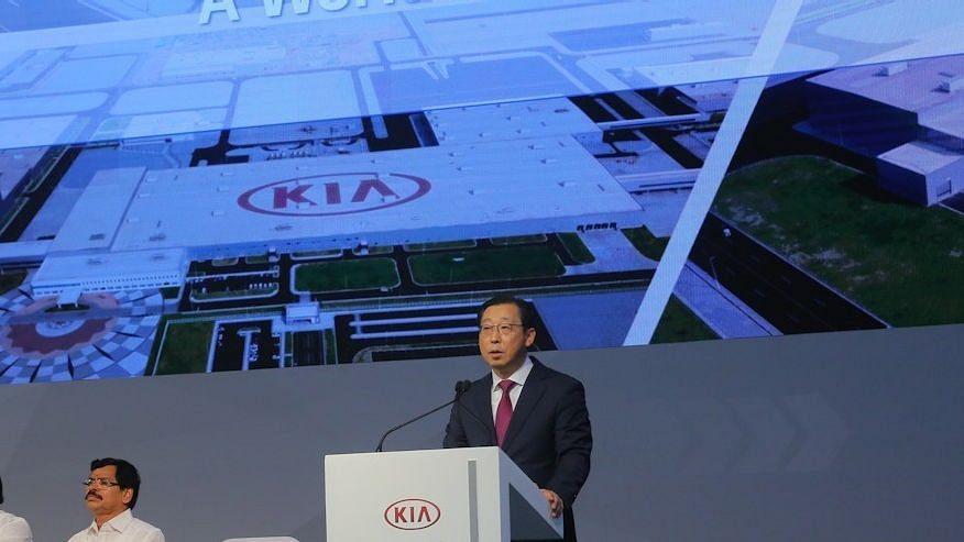 KIA motors President and CEO Mr Han Woo-Park.