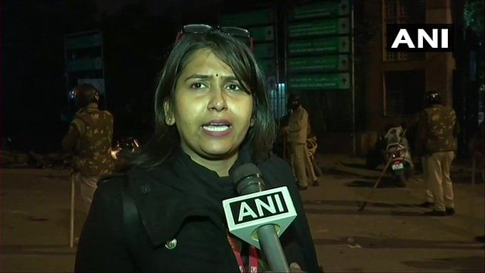Male Cops Pulled My Hair & Broke Phone, Says BBC Journo at Jamia