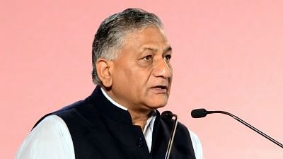 File image of Union Minister VK Singh.