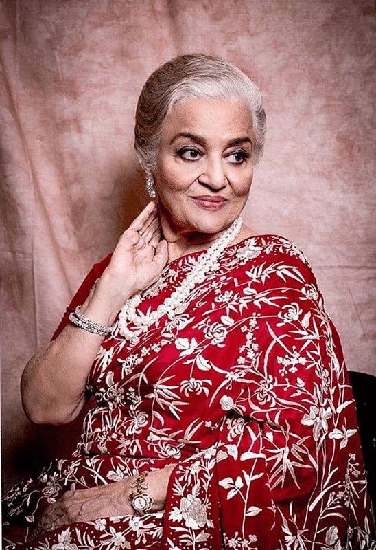 Asha Parekh says that once she puts her heart to something, she is determined to achieve it!