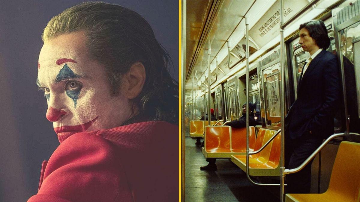 Stills from <i>Joker </i>and <i>Marriage Story</i>