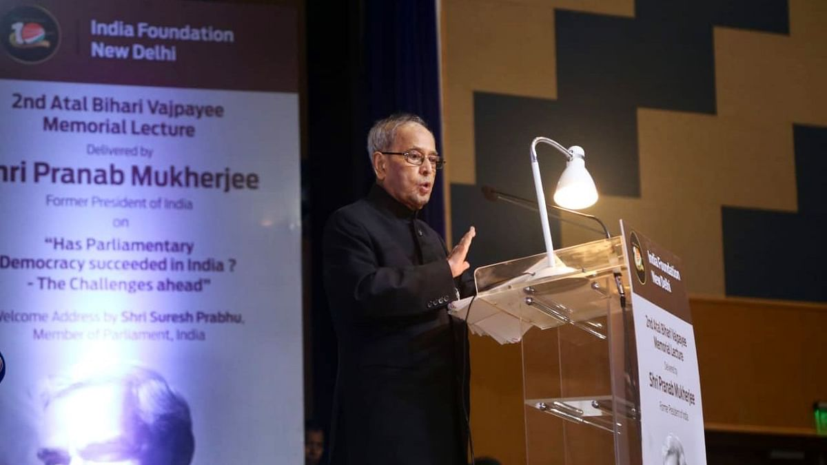Pranab Mukherjee Calls for Raising Lok Sabha Strength to 1,000