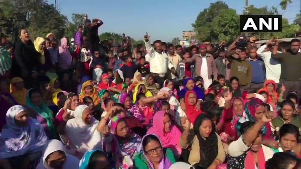 Protests against Citizenship Amendment Bill in Dibrugarh, Assam.