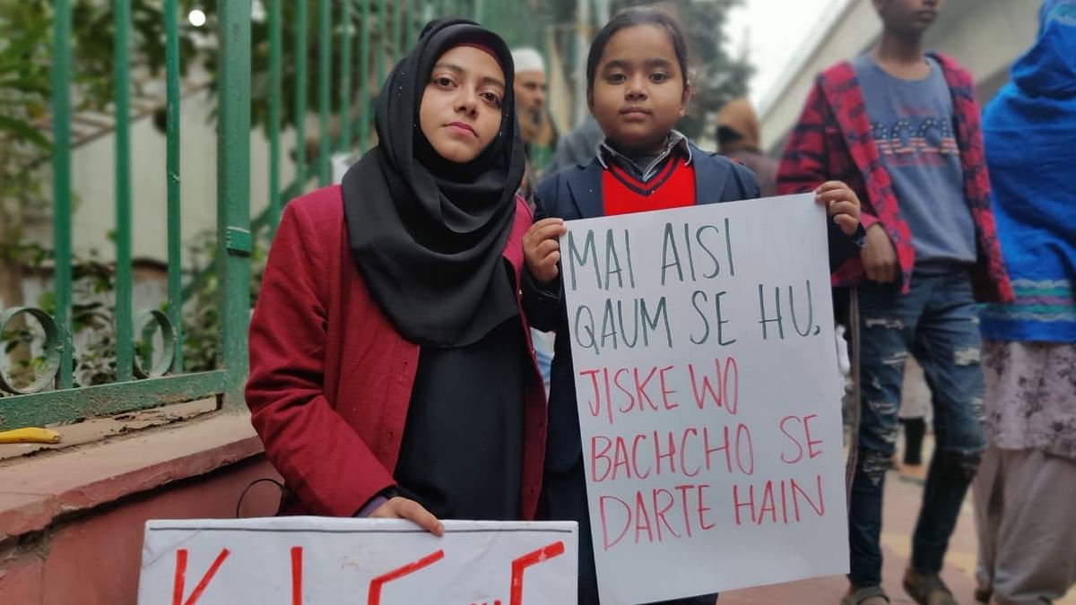Photos: Jamia Students Lean On Faiz & Jalib's Poetry to Oppose CAA