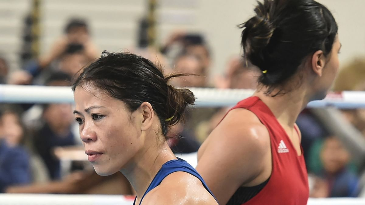 MC Mary Kom on Saturday, 28 December beat compatriot Nikhat Zareen 9-1 in the 51kg category by a split decision verdict in New Delhi and confirmed that she would represent India at the upcoming Olympic qualifiers in February.