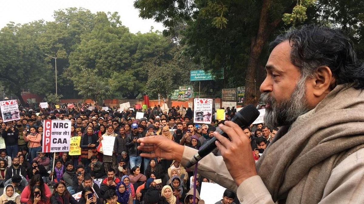 CAA: Yogendra Yadav, Umar Khalid Slam Modi-Shah Over NRC Flip-Flop