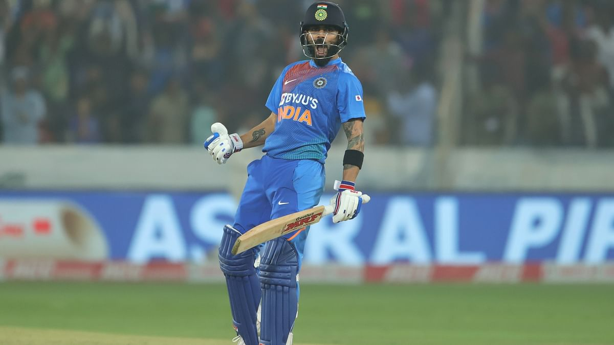Virat scored career-best 94 not out as India pulled off their highest successful run chase in a T20I.