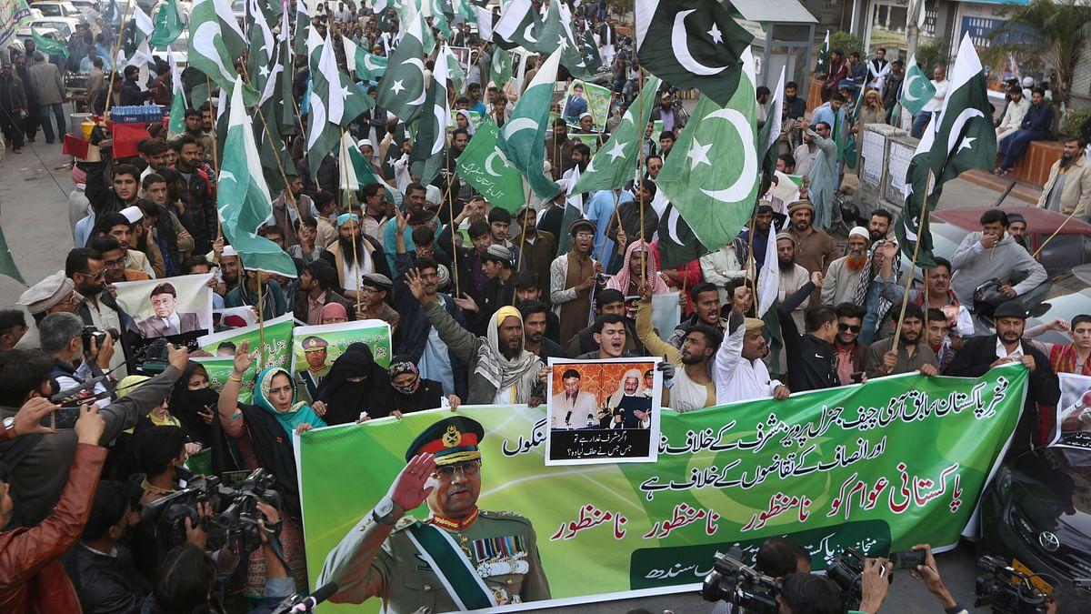 Ex-Pak Prez Musharraf Sees 'Personnel Vendetta' Behind Conviction