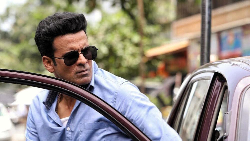 Manoj Bajpayee in a still from <i>The Family Man</i>.