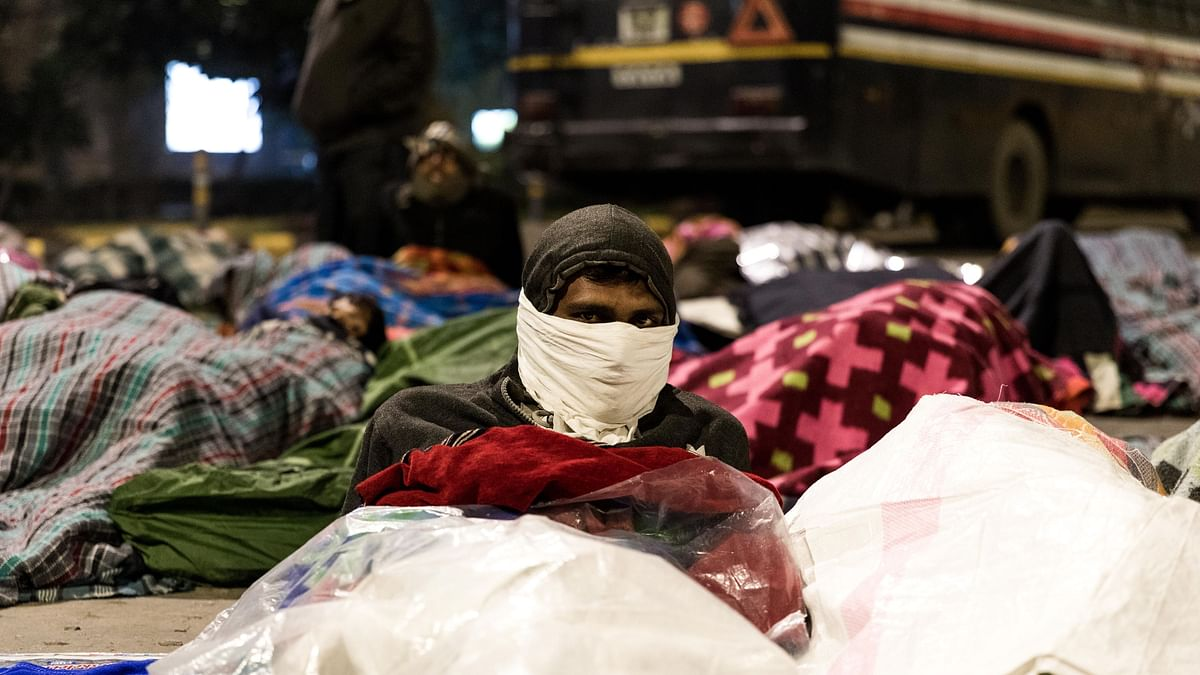 Watch: Divyang Protesters Brave Delhi Winter Nights, All For A Job