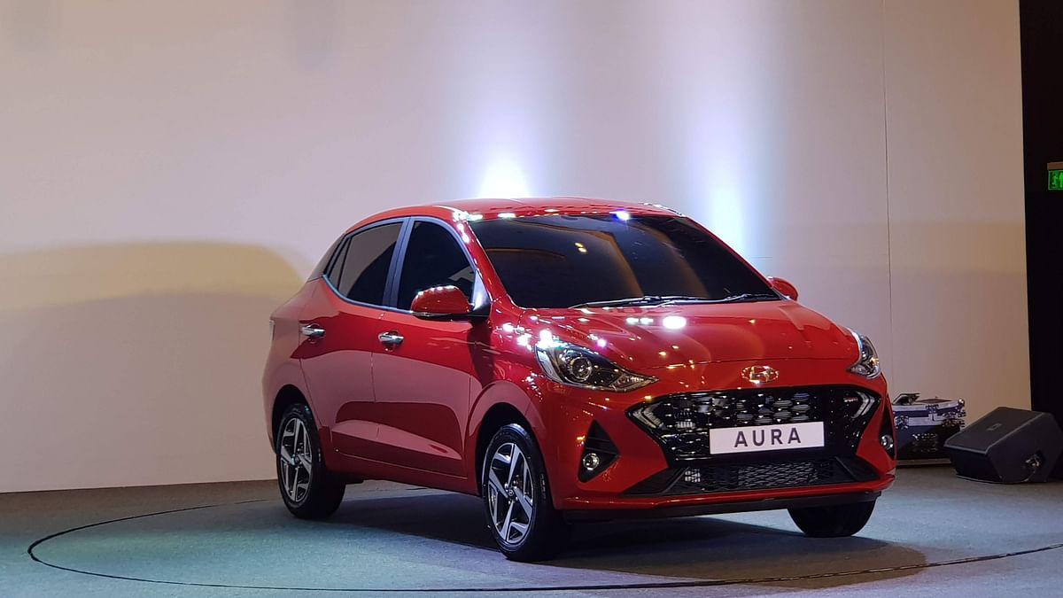 The Hyundai Aura sedan comes with three engine choices.