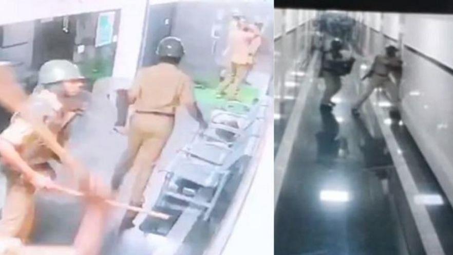 CCTV Footage May Show Manguluru Cops Using Tear Gas in Hospital