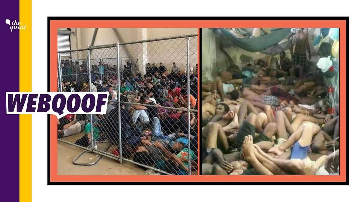 Images of Detention Camps in US, La Romana Shared as Assam Camps