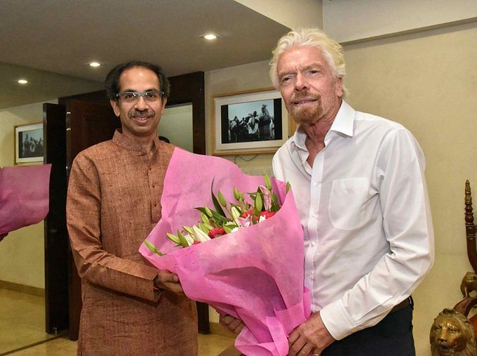 Hyperloop One's Branson  Meets Thackeray Over Mumbai-Pune Project