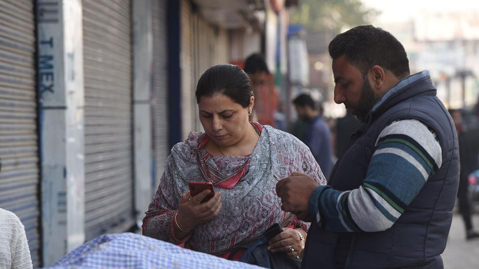 Internet services in all government-run hospitals and SMS services to all mobile phones were to be restored from 31 December midnight onwards in the Kashmir Valley.