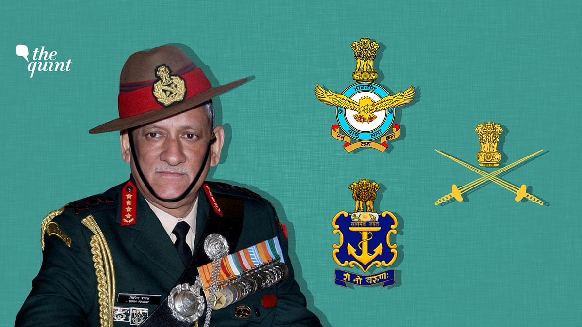 Should First Chief of Defence Staff Have Been from the Army?