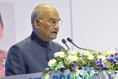 President Ram Nath Kovind. (Photo: IANS/RB)