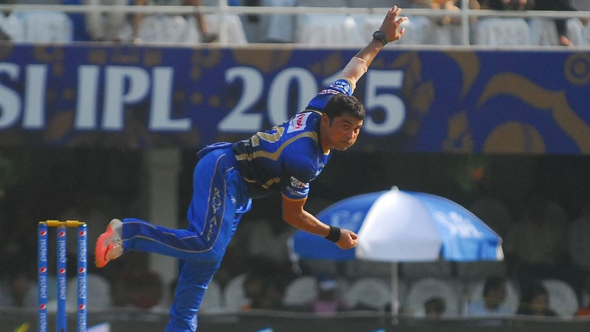 Pravin Tambe shot into prominence with a hat-trick (3/26) against Kolkata Knight Riders in IPL 2014 in Ahmedabad.