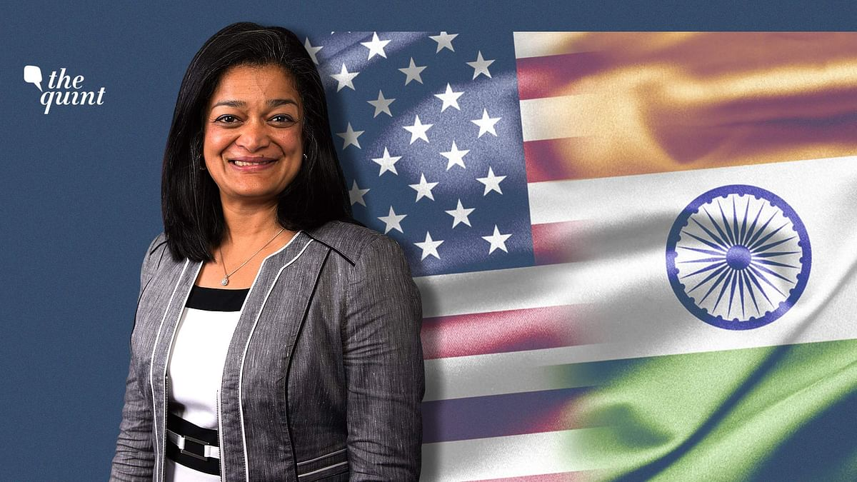 Image of US Rep. Pramila Jayapal used for representational purposes.