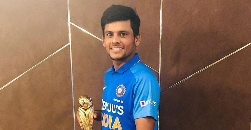 Priyam Garg will lead India in the next edition of the Under-19 World Cup that will be held in South Africa in January-February 2020.