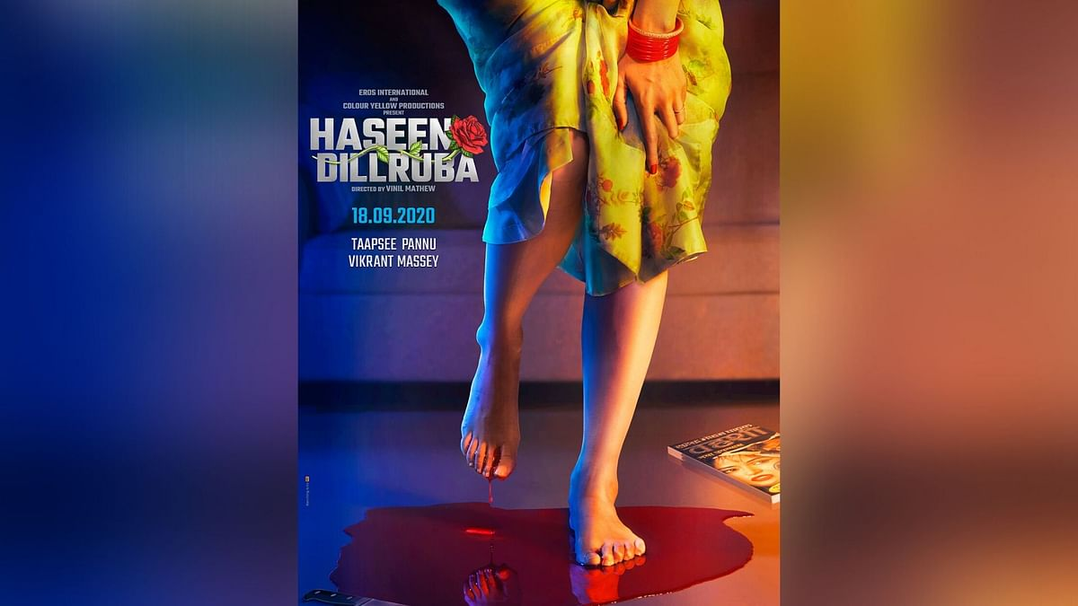 Taapsee Shares First Look of 'Haseen Dillruba' With Vikrant Massey