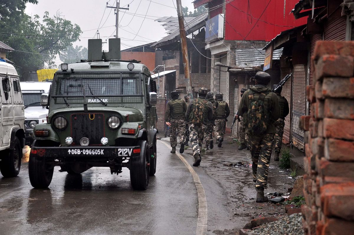 File photo of Tral encounter in May 2019