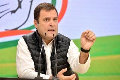 Rahul Gandhi.(File Photo: IANS)I